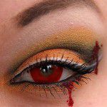 Maquillajes de terror para Halloween 2009