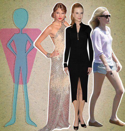 entre la celebridades con este tipo de cuerpo est n taylor swift