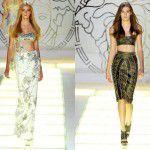 Colección Primavera – Verano 2012 de Versace