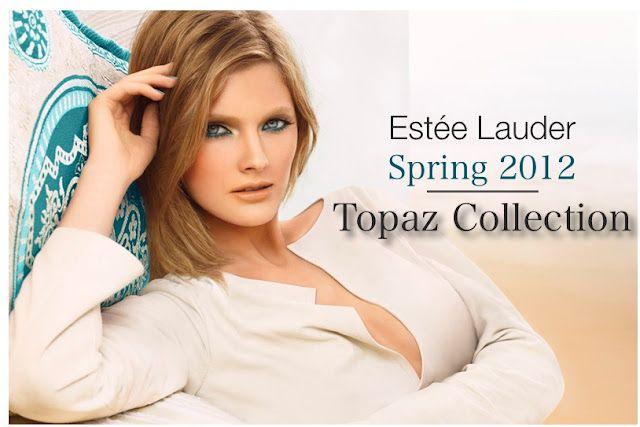 esteelauder spring2012 topazcolection 2 Estee Lauder y sus técnicas de maquillaje