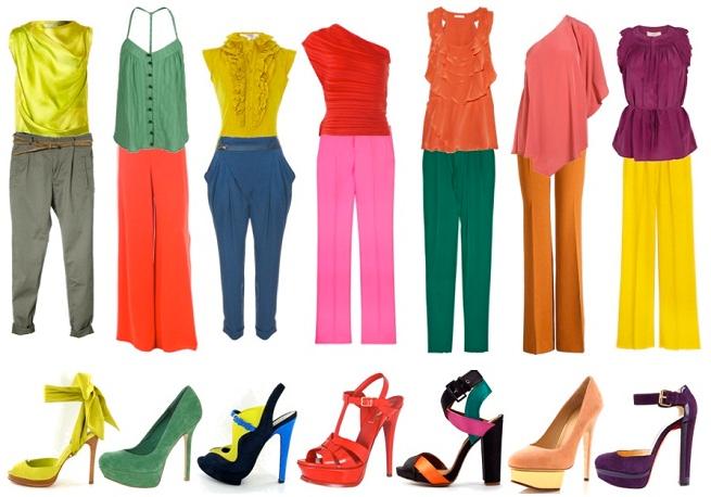 Combina tus prendas de vestir adecuadamente entre bellas - Que colores combinan con el lila ...