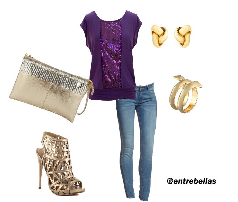 Como combinar ropa de color violeta entre bellas - Combinar color lila ...