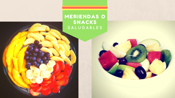 Meriendas saludables - Ensalada de frutas