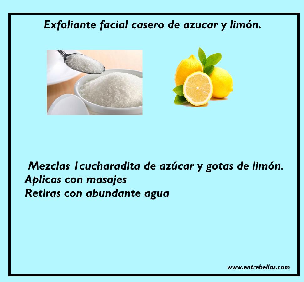 Exfoliante facial de leche de la piel