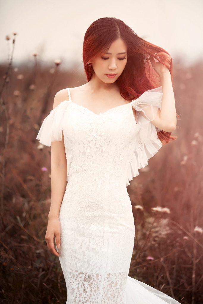 Un vestido blanco siempre será una buena opción.