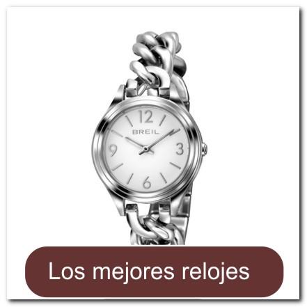 Reloj plateado para dama con brazalete estilo gourmette