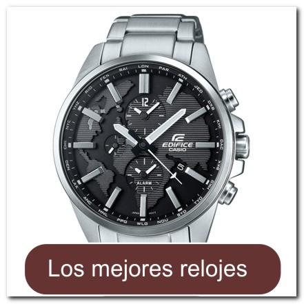 Casio edifice etd 300d 1avuef 3d world map reloj entre bellas reloj de acero con hora mundial gumiabroncs Choice Image