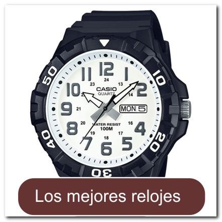 White analogo men's watch with DayDate