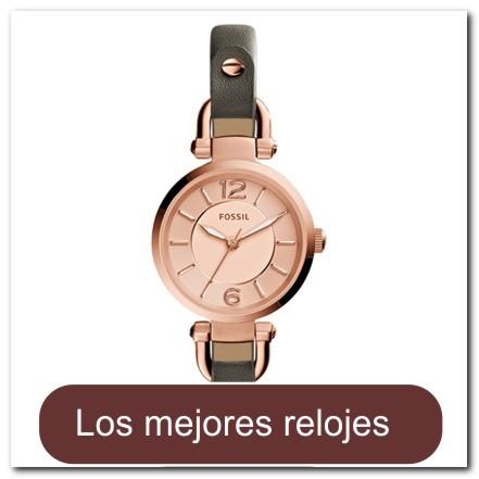 f4af1141e306 Reloj dorado rosa para dama con correa de piel gris