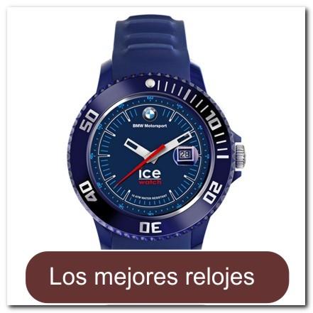Reloj para Caballero color Azul Oscuro Tamaño Mediano
