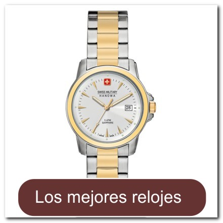 Reloj para dama con cristal de zafiro