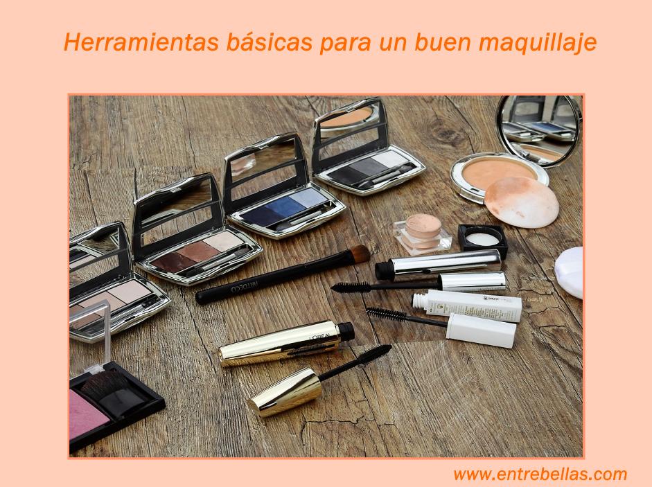 Herramientas básicas para un buen maquillaje