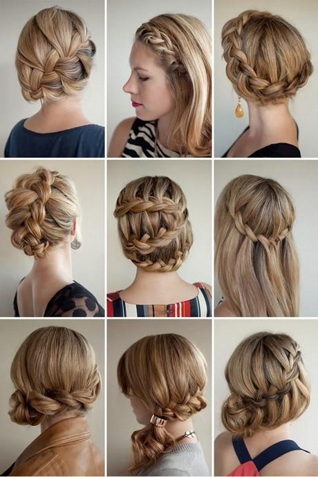 Peinados De Trenzas Estan De Moda Entre Bellas - Peinados-con-tranzas
