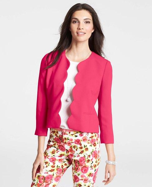 scalloped jacket