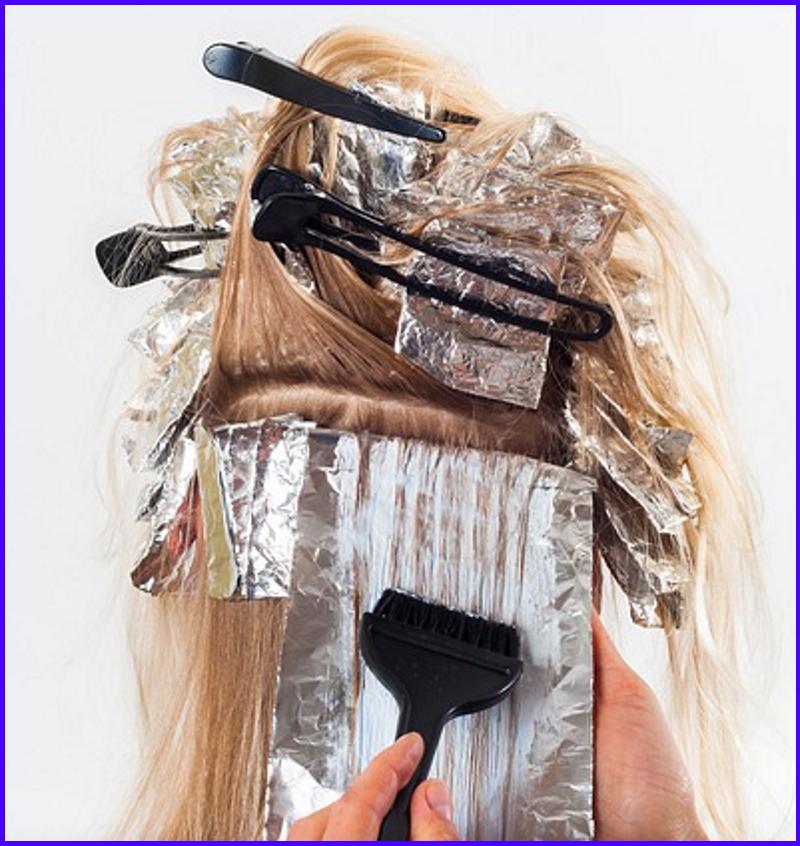Aplicando tintes de cabello