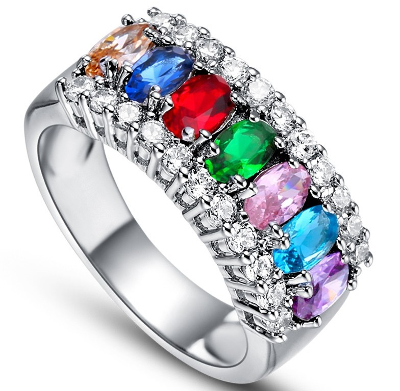 anillo compromiso color