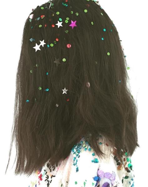 cabello confetti