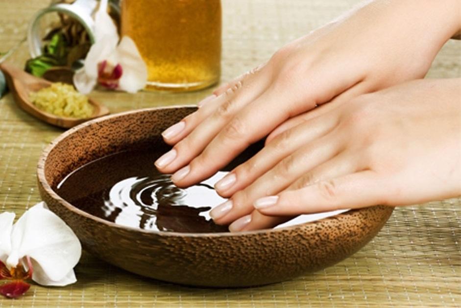 el chocolate manos