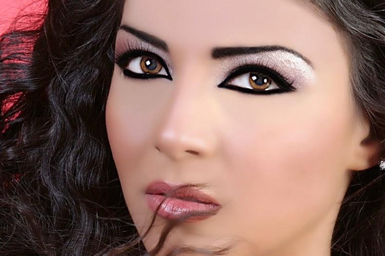 maquillaje arabes