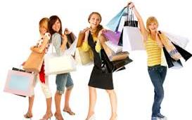 chicas de compra