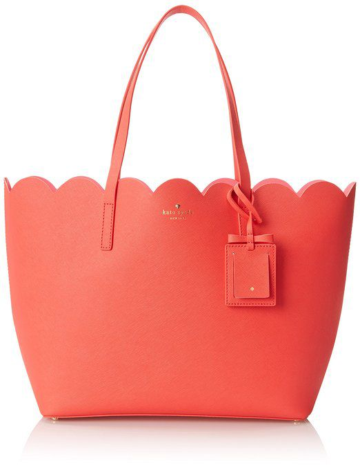 scalloped bag