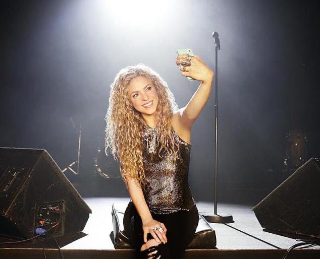 selfie shakira