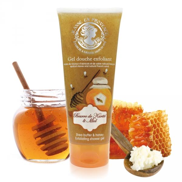 exfoliating-shower-gel-shea-butter-honey