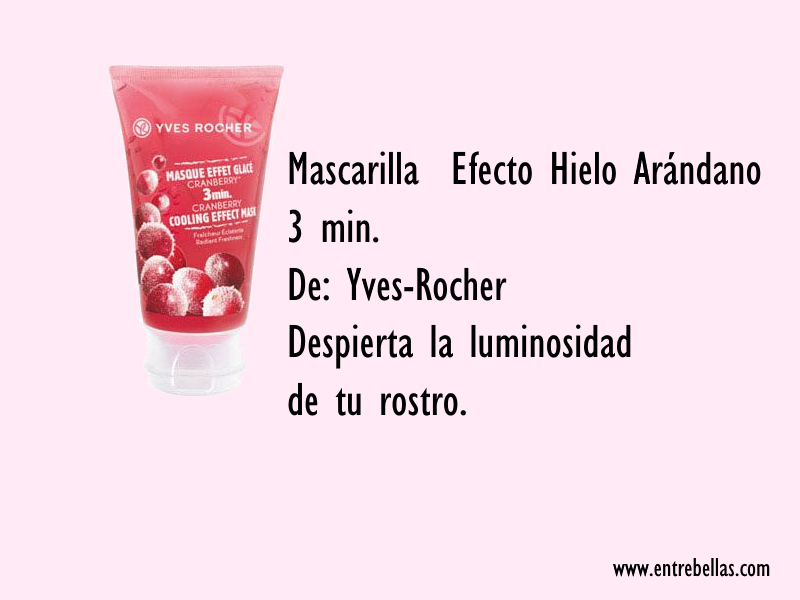 Mascarilla Yves Rocher