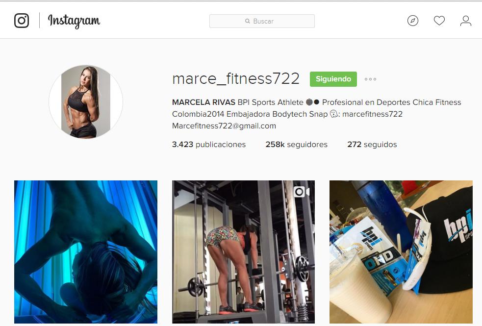 Fitness - Marcela Rivas