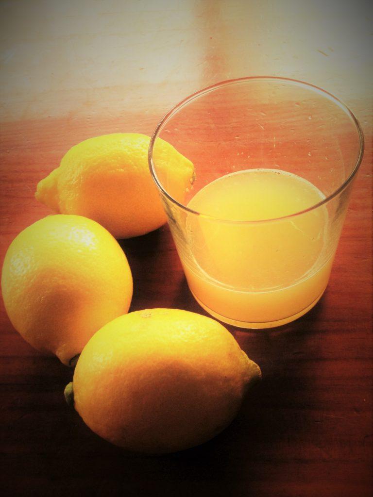 Crema de manos casera - Zumo de limon