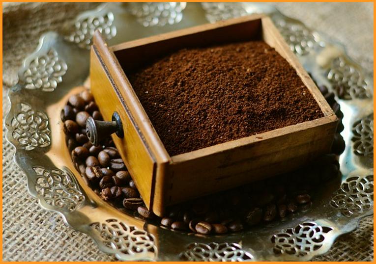 Exfoliación de café