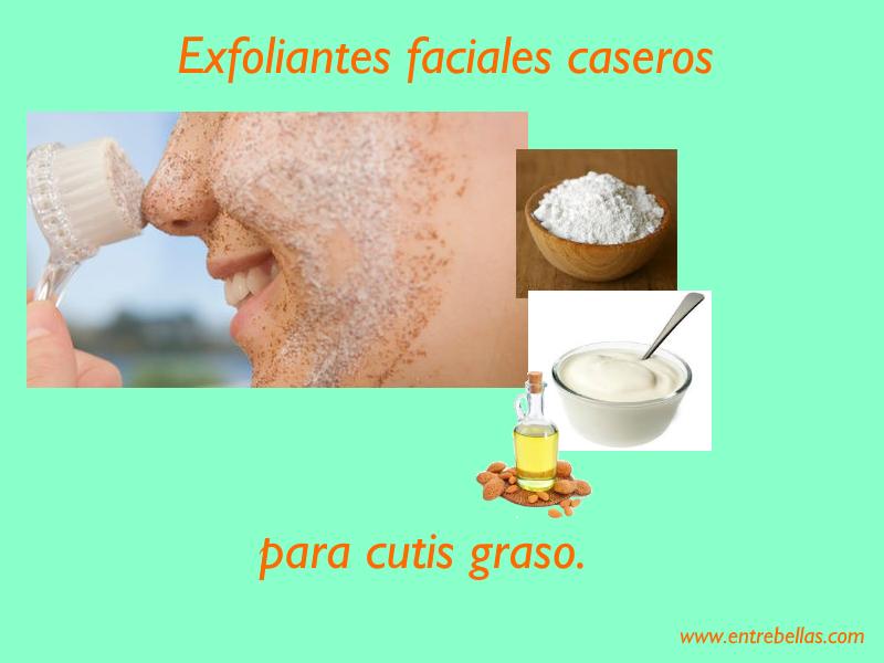 6 Exfoliantes faciales caseros para piel grasa que no te puedes perder