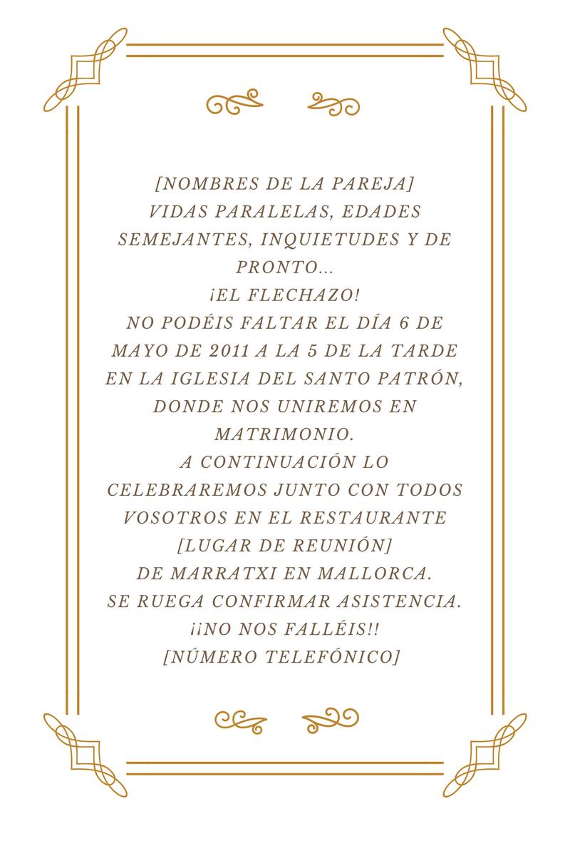 Textos Para Invitaciones De Boda Originales Y Clasicos