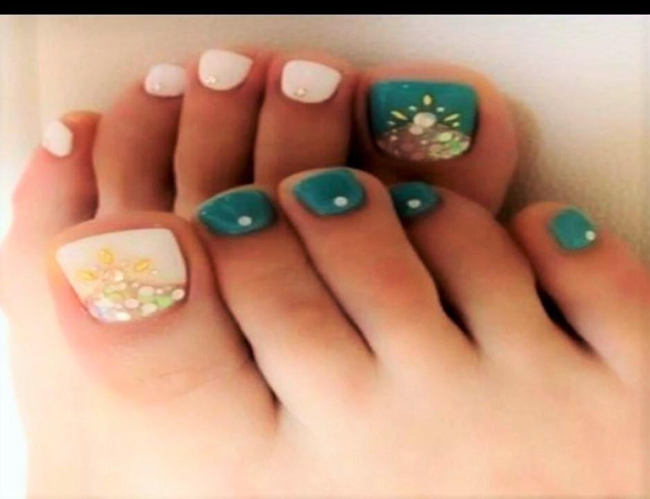 Modelos de uñas para pies: Estilos y Diseños para todos los gustos ...