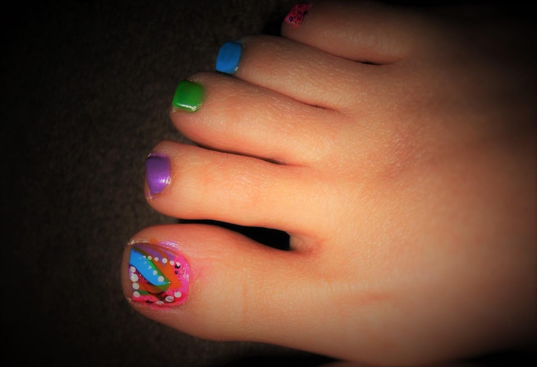 Modelos de u as para pies estilos y dise os para todos - Unas modelos para pintar ...