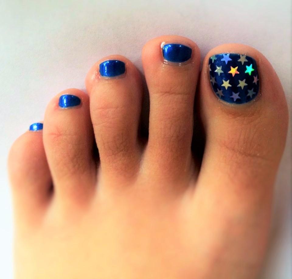 Modelos de uñas para pies