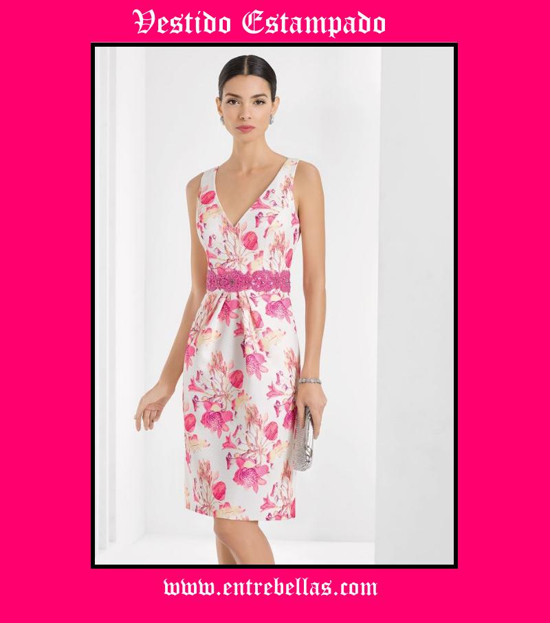 Consejos para llevar vestidos estampados | Entre Bellas