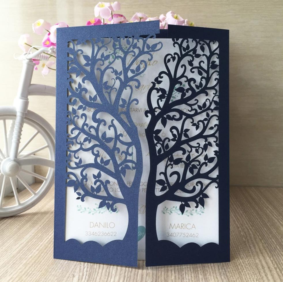 Las invitaciones para bodas son una hermosa carta de presentación