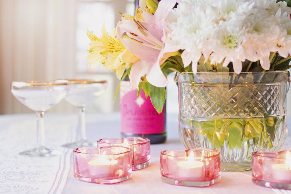 Hermosas decoraciones para bodas en primavera.