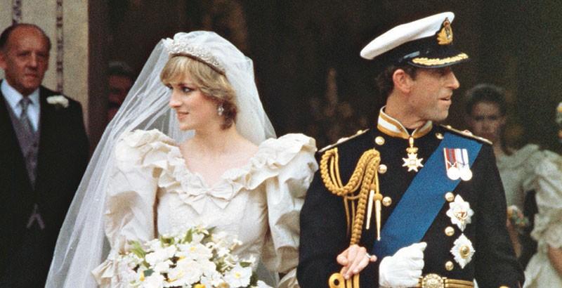 Diana De Gales y el príncipe Carlos.