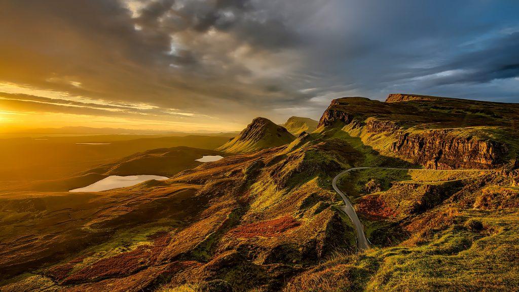 La imponente Escocia.