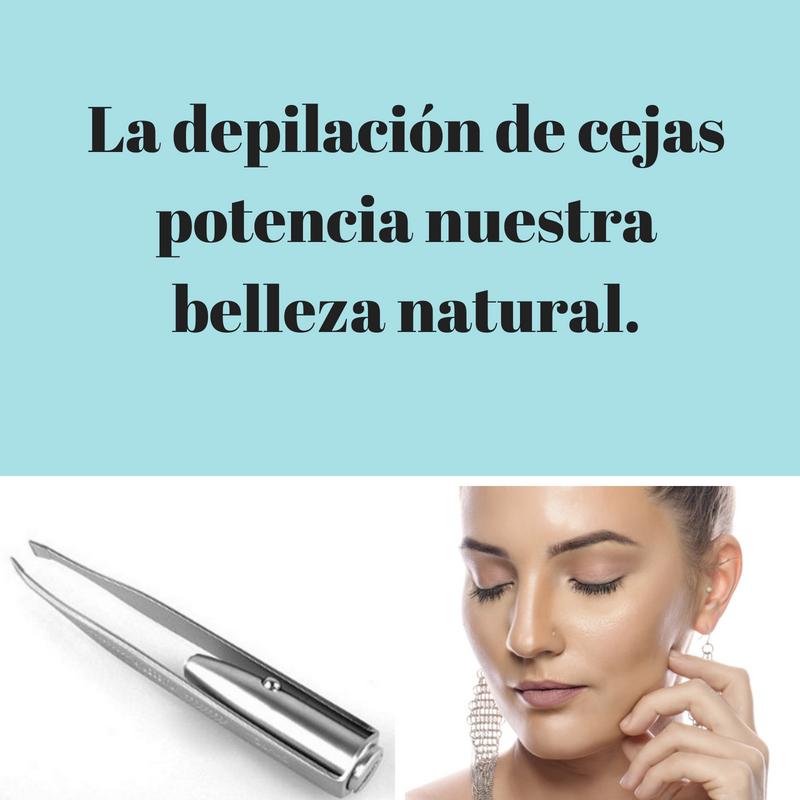 La depilación de cejas potencia nuestra belleza natural