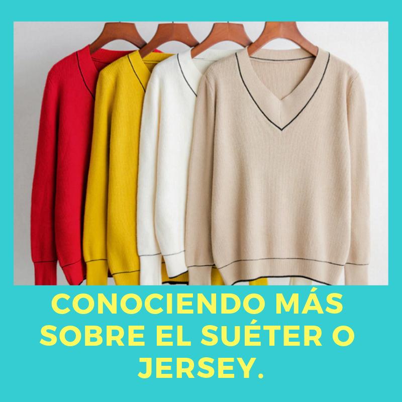 El jersey es una prenda de vestir de punto