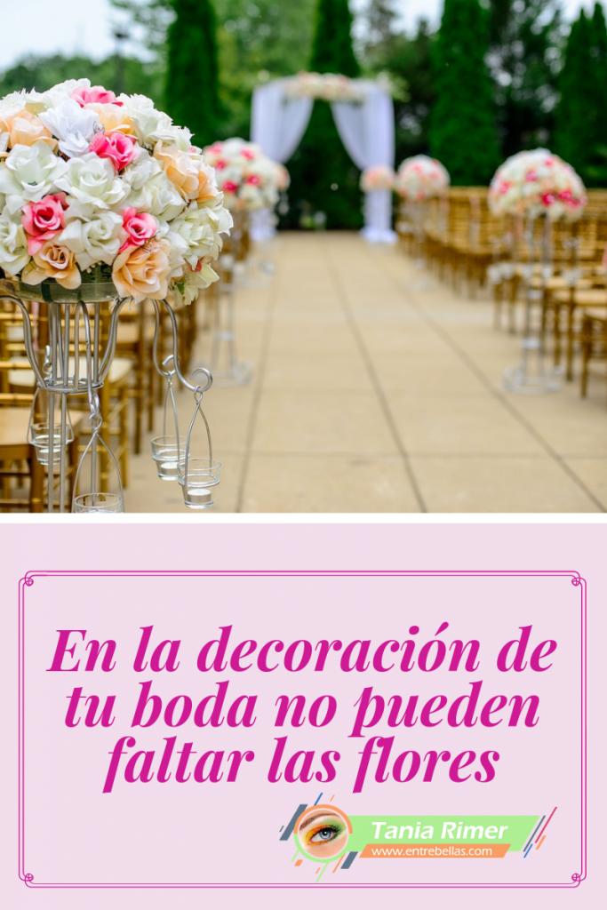 Decorar tu boda con flores